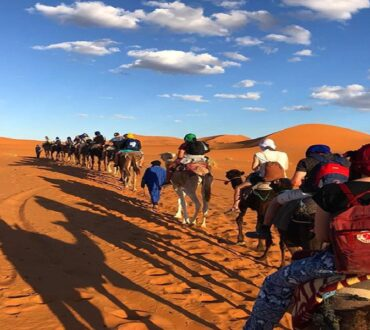 6 Days Agadir to Fes via Merzouga desert tour