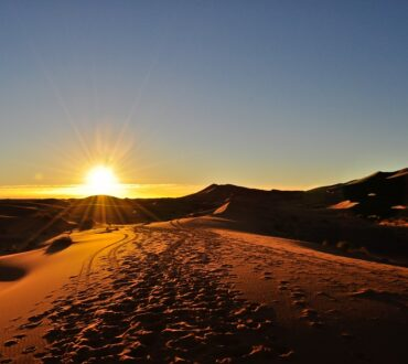 Camel Trek for sunrise & sunset in Merzouga desert