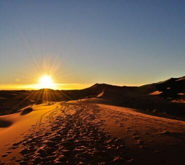 Camel Trek for sunrise & sunset in Merzouga desert